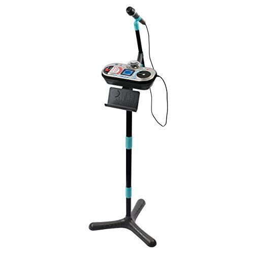 VTech 80-531774 Kidi Super Star DJ Studio black Karaokespielzeug, Mikrofon