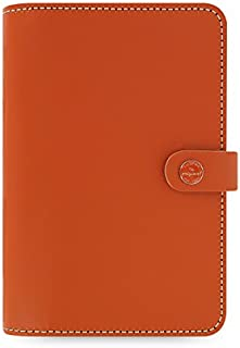 Filofax The Original Leather Organizer Agenda Any Year Not Dated Diary and 2021 Calendar Bundle with DiLoro Ballpoint Pen... photo