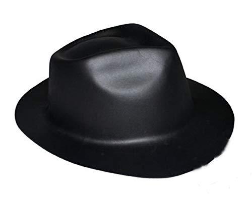 Chapeau Al Capone - Noir - Taille Unique