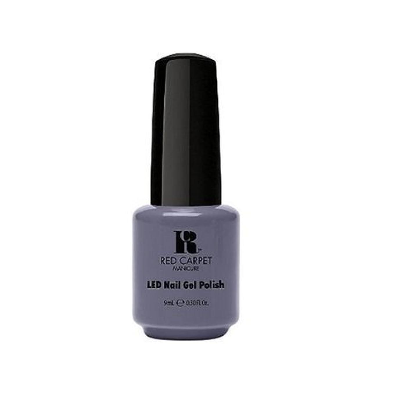 出血黒オッズRed Carpet Manicure - LED Nail Gel Polish - Unscripted - 0.3oz / 9ml