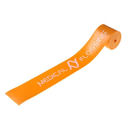 Medical Flossing Therapieband orange 2,13 m latexfrei