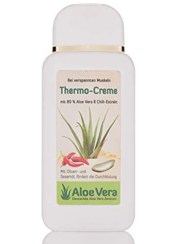 Thermo-Creme mit 80% Aloe Vera und Chili Extrakt, Naturkosmetik (1 x 200 ml)