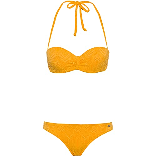 Buffalo Damen Bikini Set gelb 38 / B