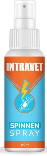 Saint Nutrition Intravet – Spray antiarañas altamente eficaz para ahuyentar interiores y exteriores – medio para arañar – Antiaraña – Espray antiarañas – 100 ml