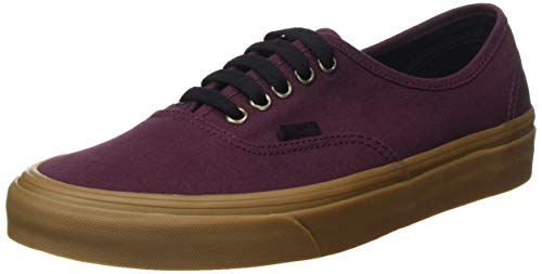 Vans – Authentic – VN0A38EMU5A1M – El Color: Rojo Burdeos – Talla: 6.5