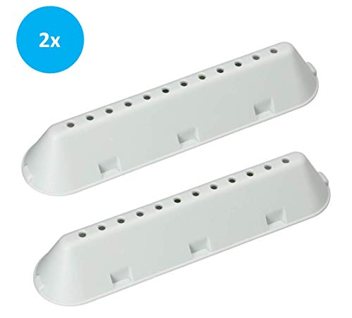 2x LUTH Premium Profi Parts universele trommelrib wasrib wasmachine droger geschikt voor INDESIT C00268109