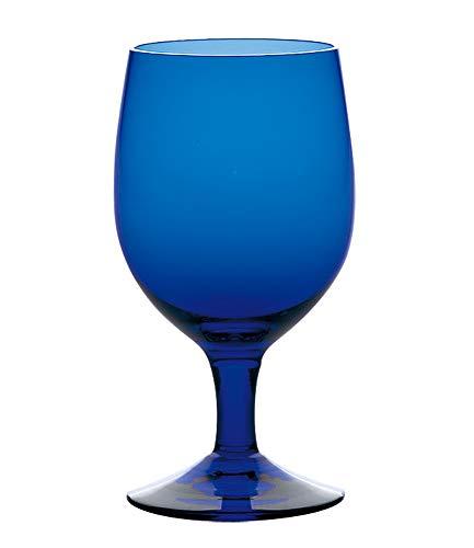 東洋佐々木ガラス ゴブレット ブルー 340ml カラーステム 日本製 食洗機対応 35006HS-UB