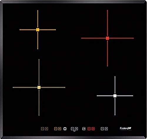 Foster S4000Piano a inducción, Negro, 59x 52x 5.3cm