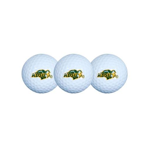 Amazing Deal North Dakota State Bison Golf Ball Pack of 3