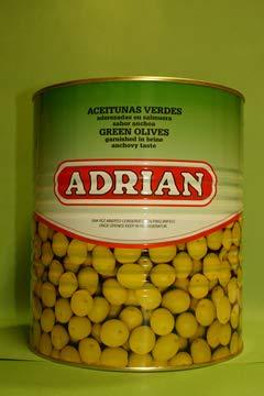 Aceitunas Manzanilla Sabor Anchoa Bote 5 Kg