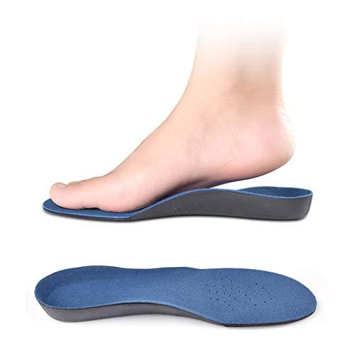 BingWS Plantillas Plantilla de corrección de pie Plano para Hombre Plantillas de Soporte de Arco Femenino Tipo de Pierna de corrección Suave y cómoda Valgus Plantillas Plantillas Ortopédicas