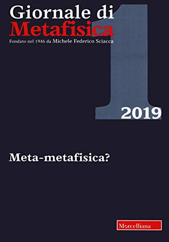 Giornale di metafisica (2019)