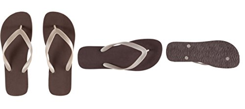 TRIBORD - Sandalias para hombre Marrón Braun/Brown, color Marrón, talla 40