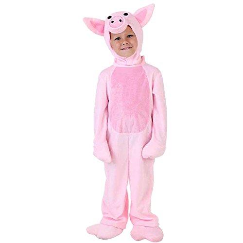 LPATTERN Cosplay Kinder Bühne Leistung Kleidung Spiel Kostüm, Rosa Schwein, M(Fabrikgröße: L