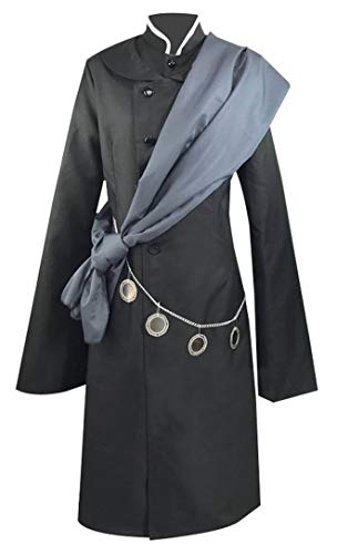 Wish Costume Shop Mens Black Under Taker Horror Outfit Cosplay Costume (Woman, XS)