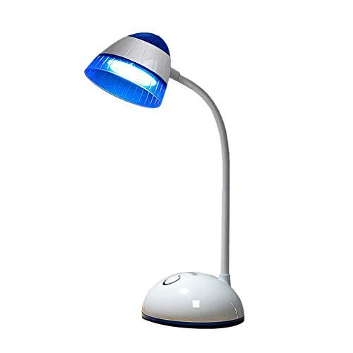 Oogbescherming leeslamp LED traploos dimmen, 3-traps USB-oplaadkabel oplaadbaar Multi-Angle