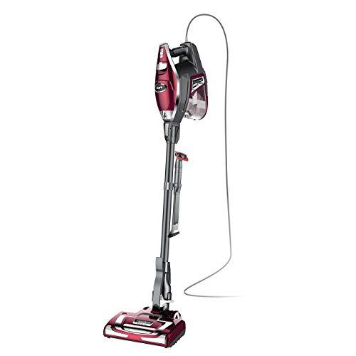 Shark Rocket DeluxePro Ultra-Light Upright Corded Stick Vacuum, Bordeaux (Renewed)