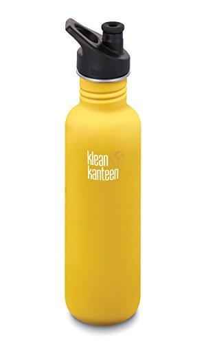 Klean Kanteen 800ml/27oz Kanteen© Classic (mit Sport Cap 3.0)-LC Lemon Curry (matt)