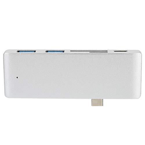 Concentrador USB C portátil Adaptador de concentrador Tipo C Profesional Puerto USB 3.0 Accesorio para computadora portátil
