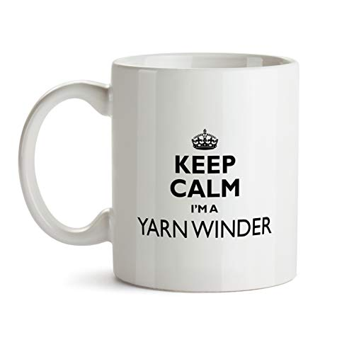 Yarn Winder Gift Mug - Keep Calm Best Ever Coffee Cup Colleague Co-Worker Thank You Appreciation Present