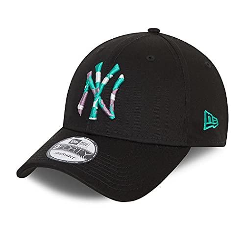 New Era York Yankees MLB cap 9Forty Basecap verstellbar Kappe Baseball Camouflage Infill Schwarz - One-Size