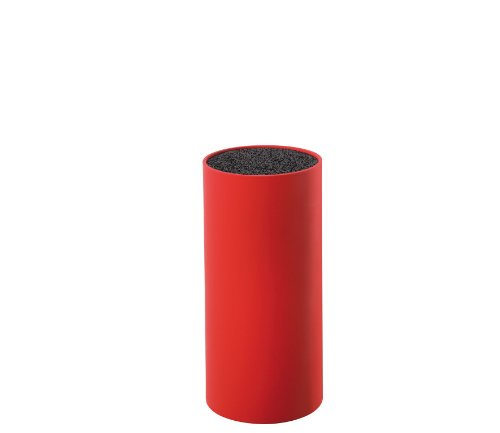 Zassenhaus: Bloque para Cuchillos de Cocina en Color Rojo - 22,5 cm...