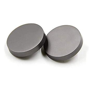 10PCS Sewing Flat Metal Button Shirt Coat Buttons Suit Buckle 25mm Matte Silver for DIY Crafts