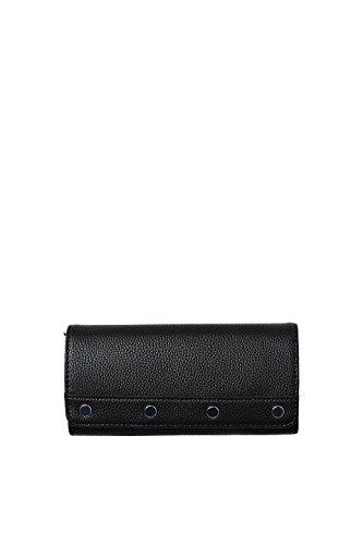 Esprit Accessoires Damen 078ea1v005 Geldbörse, Schwarz (Black), 1x9x19 cm