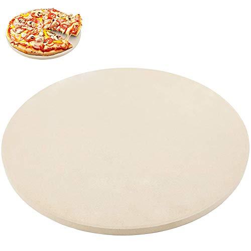 Pizzagrillsteen, Pizzasteen/Baksteen/Pizzapan, Kleine Kooksteen Voor Oven Perfect Keramisch Bakgereedschap Voor Bbq En Grill - Thermische Schokbestendige, Duurzame En Veilige Steen, (13