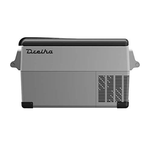 Dreiha CBX35- Nevera Portátil con Compresor LG, CoolingBox 35, Conexiones 12V / 24V 0 110V/ 220V, Enfriamiento de -20ºC a +20ºC, para Camping, Vehículos y Más. Incluye Cesta Removible