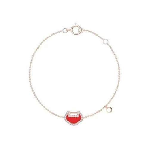 Pulsera de plata de ley S925 con candado, pendientes de pulsera de niña cadena de pulsera para mujer, regalo personalizado para ella en el día de la madre y el día de San Valentín, caja de regalo