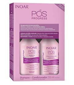 Inoar Duo POS Progress - Kit de champú y acondicionador (250 ml)