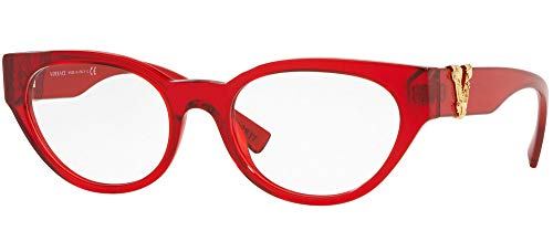 Versace Brillen Gafas de Vista VIRTUS VE 3282 RED 53/19/140 Damen