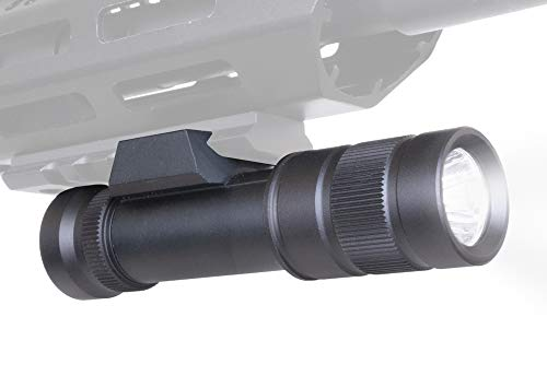 Monstrum F200 200 Lumens Flashlight with Remote Pressure Switch and Picatinny Rail Mount | for Rifles and Shotguns