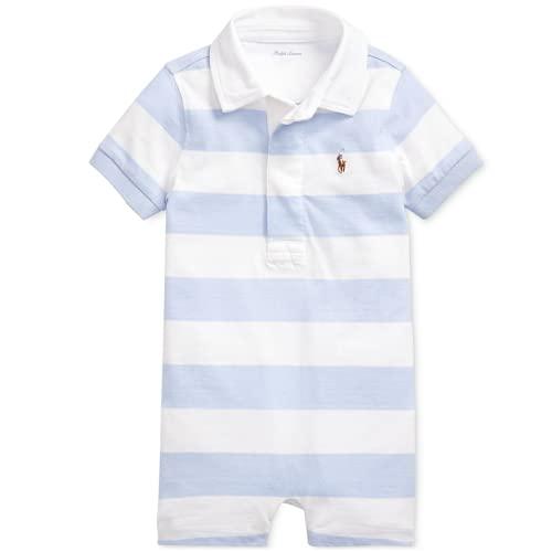 Ralph Lauren - Pantaloni corti in maglia di cotone, 9 m, colore: blu navy