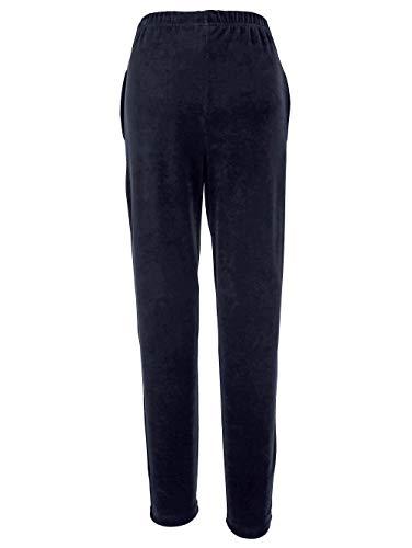 KLiNGEL Harmony Freizeithose aus weicher Nicki-Qualität Blau