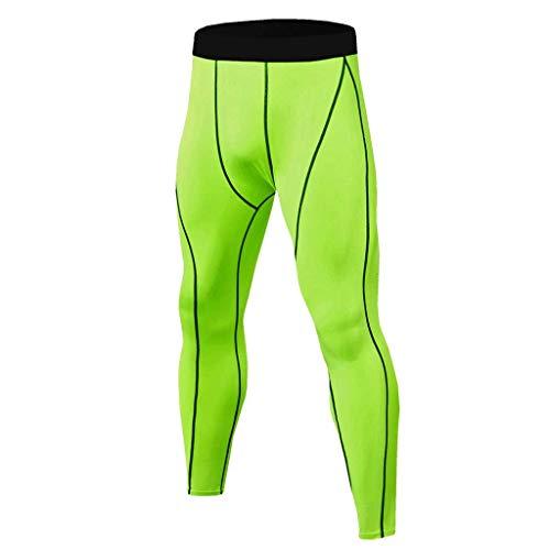 FELZ Leggins Fitness Hombre Gym,Pantalones Transpirables de Secado rápido Leggings térmicos Running Yoga Fitness Leggings de Culturismo para Entrenamiento Deportivo para Hombres Pantalones Largos