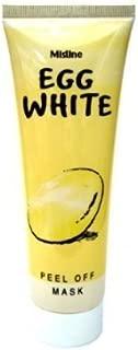 x 3 Tube Best Face Mask Egg White Whitening Poreless & Anti-blackhead Peel Off Face Facial Mask