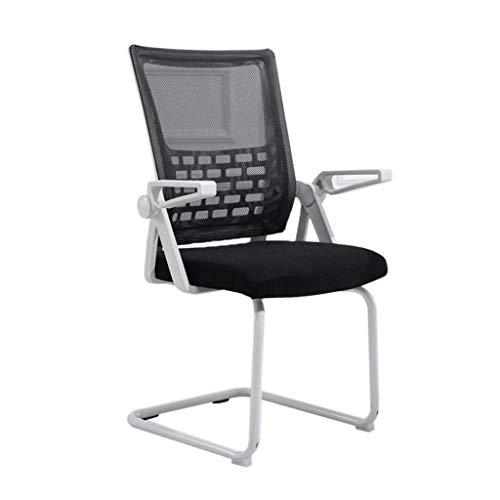 Fhw silla de oficina Sillón tubular asiento posterior impermeable duradera y no es fácil de lavar la espalda institución financiera silla de oficina clínica de nuevo presidente sistema informático vol