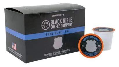 Black Rifle Coffee 12 K-Cups (Thin Blue Line)