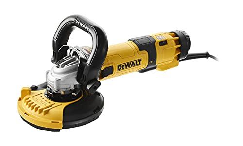 DᴇWALT DWE4257-QS Smerigliatrice angolare (1500 watt, 125 mm con elettronica di velocità, con avvio graduale e protezione da tensione zero)