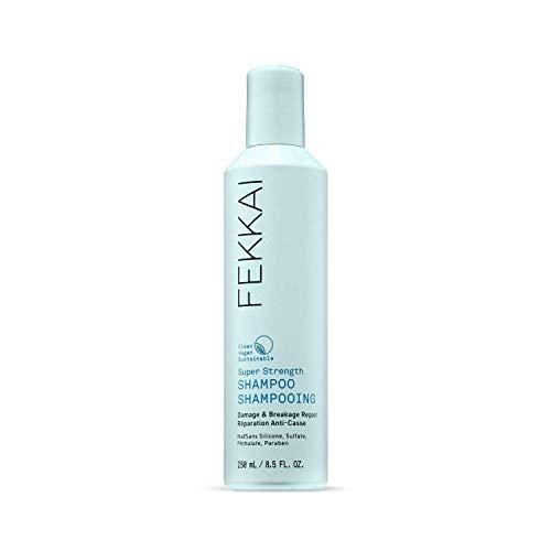 FEKKAI Super Strength Shampoo, Damage & Breakage Repair, Natural and Clean, Vegan, Sulfate Free (8.5 oz)
