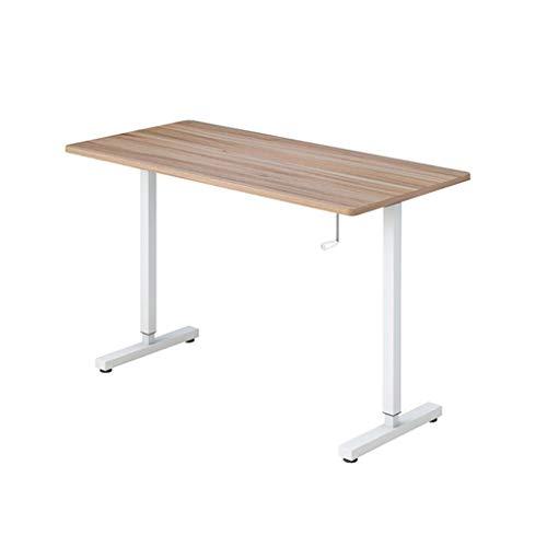 Escritorios Compacto Creative Stand-up Desk Elevador de manivela Escritorio portátil Podium Inicio Escritorio Minimalista Moderno Mesa de Estudio