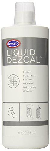 Urnex Dezcal - Eliminador de báscula de líquido activado, 1 litro