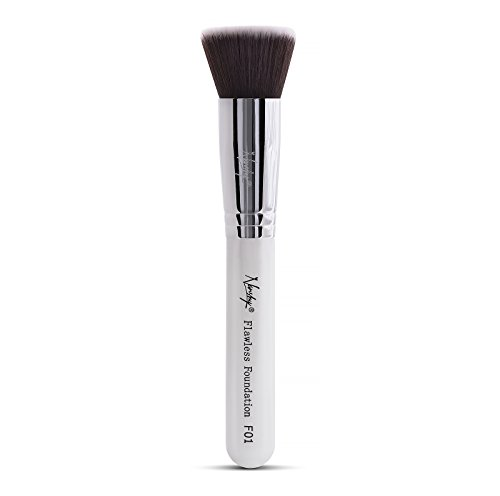 Nanshy Angled Kabuki Buffer Makeup Brush - Bronzer...
