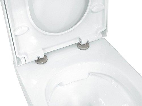 LAVITA KERAMIK HÄNGE-WC-TOILETTE #92035 SPÜLRANDLOS + SOFT-CLOSE - 3