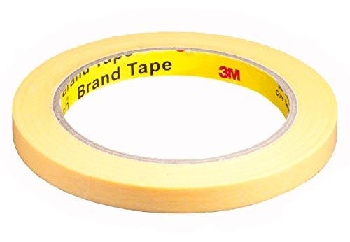 DonDo 3M Scotch 244 Gold Maler Krepp Abdeckband Klebeband Abklebeband 10 mm x 50 Meter