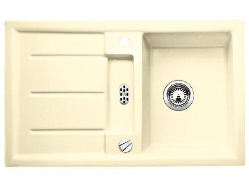 BLANCO PRION 45 S PuraPlus² Spüle Keramik, Ausführung Farbe:vanilla