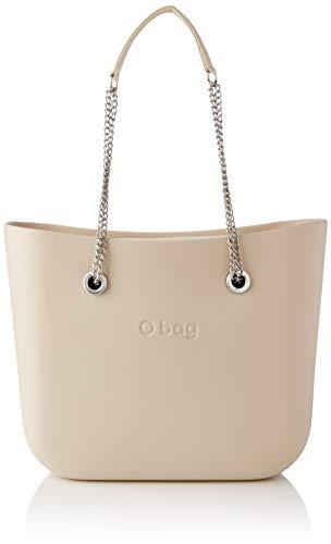 O bag, Borsa da donna, Sabbia, Unica