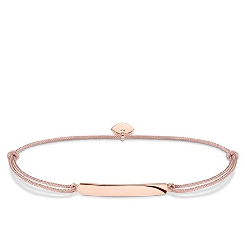 THOMAS SABO Damen Armband Little Secret Classic 925er Sterlingsilber; 750er Roségold Vergoldung LS027-597-19